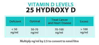 Vitamin D Test Levels
